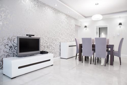 shutterstock 353584655 - 6 Cara Memasang Wallpaper di Dinding Rumah