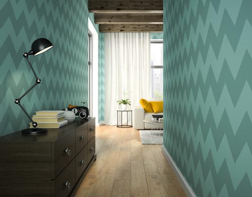 shutterstock 420632896 - 6 Cara Memasang Wallpaper di Dinding Rumah